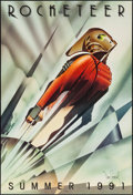 "Movie Posters:Action, Rocketeer (Walt Disney Pictures, 1991). Autographed One Sheet (27""X 40"") DS Advance. Action.. ..."