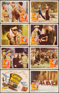 """Movie Posters:Musical, Call Me Mister (20th Century Fox, 1951). Lobby Card Set of 8 (11"""" X 14""""). Musical.. ... (Total: 8 Items)"""