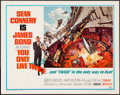 "Movie Posters:James Bond, You Only Live Twice (United Artists, 1967). Half Sheet (22"" X 28"").James Bond.. ..."