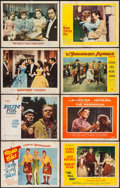 "Movie Posters:Comedy, Road to Bali & Others Lot (Paramount, 1952). Lobby Cards (185),Title Lobby Cards (10), & Lobby Card Sets of 8 (11) (11"" X 1...(Total: 283 Items)"