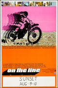 """Movie Posters:Documentary, On the Line (Interwest Film Corp., 1972). Poster (23"""" X 35""""). Documentary.. ..."""