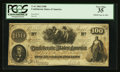 Confederate Notes:1862 Issues, T41 $100 1862 PF-23.. ...