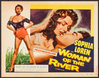 "Woman of the River (Columbia, 1957). Title Lobby Card (11"" X 14""). Foreign"