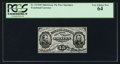 Fractional Currency:Third Issue, Fr. 1272SP 15¢ Third Issue Narrow Margin Face PCGS Very Choice New 64.. ...