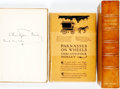 Books:Literature 1900-up, Christopher Morley. SIGNED. The Rocking Horse. New York:George H. Doran Company, [1919]. Signed by the author. ... (Total:2 Items)