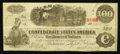 Confederate Notes:1862 Issues, T40 $100 1862 PF-3 Cr. 302.. ...
