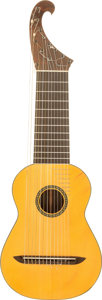 Musical Instruments:Acoustic Guitars, 1987 Walter Stanul Se Tachino Natural Acoustic Guitar, Serial #39....