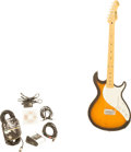 Musical Instruments:Electric Guitars, 2002 Line 6 Variax Sunburst Solid Body Electric Guitar, Serial #09040079....