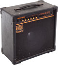 Musical Instruments:Amplifiers, PA, & Effects, 1990 Roland DAC-50D Black Guitar Amplifier, Serial # 932039....