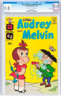 Bronze Age (1970-1979):Cartoon Character, Little Audrey and Melvin #45 File Copy (Harvey, 1970) CGC NM/MT 9.8Off-white to white pages....