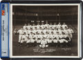 Baseball Collectibles:Photos, 1937 New York Yankees News Photograph, PSA/DNA Type 1....