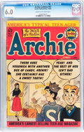 Golden Age (1938-1955):Humor, Archie Comics #57 (Archie, 1952) CGC FN 6.0 Cream to off-whitepages....