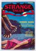 Pulps:Horror, Strange Tales V1#2 (Clayton, 1931) Condition: FN....