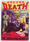Pulps:Horror, Doctor Death #3 (Dell, 1935) Condition: VG....