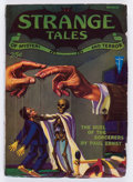 Pulps:Horror, Strange Tales V2#1 (Clayton, 1932) Condition: Apparent VG....