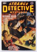 Pulps:Detective, Strange Detective Mysteries V3#1 (Popular, 1939) Condition: FN....