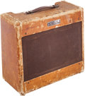 Musical Instruments:Amplifiers, PA, & Effects, 1953 Fender Deluxe Tweed Guitar Amplifier....
