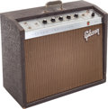 Musical Instruments:Amplifiers, PA, & Effects, 1964 Gibson GA-19 RVT Falcon Brown Guitar Amplifier, Serial #772831....