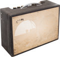 Musical Instruments:Amplifiers, PA, & Effects, 1960's Gretsch Country Gentleman Grey Guitar Amplifier, Serial # G5486....