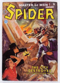 Pulps:Hero, The Spider - January '35 (Popular, 1935) Condition: VG....