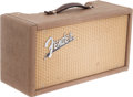 Musical Instruments:Amplifiers, PA, & Effects, 1963 Fender Reverb Unit Brown Guitar Amplifier, Serial # R03090....