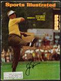 "Golf Collectibles:Autographs, 1967 Jack Nicklaus Signed ""Sports Illustrated"" Magazine...."