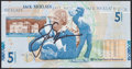 Golf Collectibles:Autographs, Jack Nicklaus Signed Currency Note....