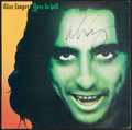 Miscellaneous Collectibles:General, Alice Cooper Signed Album....