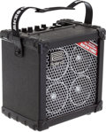 Musical Instruments:Amplifiers, PA, & Effects, 2000 Roland Microcube RX Black Guitar Amplifier....
