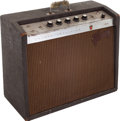 Musical Instruments:Amplifiers, PA, & Effects, 1964 Gibson GA-19 Falcon Brown Guitar Amplifier, Serial # 489268....