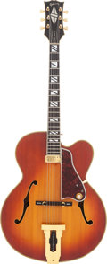 Musical Instruments:Electric Guitars, 1972 Gibson Johnny Smith Sunburst Semi-Hollow Body Electric Guitar,Serial # 120729....