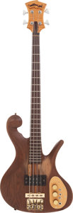 Musical Instruments:Bass Guitars, Late 1970's Carl Thompson Stanley Clarke Piccolo Bass. ...