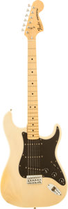 Musical Instruments:Electric Guitars, 1978 Fender Stratocaster Blond Solid Body Electric Guitar, Serial #S896997....