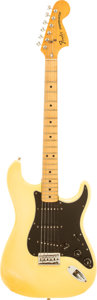 Musical Instruments:Electric Guitars, 1979 Fender Hardtail Stratocaster Olympic White Solid Body Electric Guitar, Serial # S901500.. ...