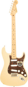 Musical Instruments:Electric Guitars, 2002 Fender Buddy Guy Signature Stratocaster Blonde Solid BodyElectric Guitar, Serial # SZ2108474....