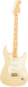 Musical Instruments:Electric Guitars, 1997 Fender '54 Re-Issue Stratocaster Blonde Solid Body ElectricGuitar, Serial # CN700759....