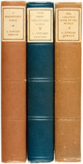Books:Books about Books, A. Edward Newton. Group of Three Titles. Various publishers and dates.... (Total: 3 Items)