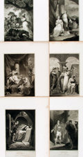 Books:Prints & Leaves, [Shakespeare]. Group of Twenty-Two Engraved Plates Depicting Scenesfrom Various Shakespeare Plays. London: J. & J. Boydell,...
