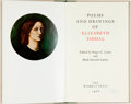 Books:Fiction, [Elizabeth Siddal]. Roger C. Lewis, editor. INSCRIBED/LIMITED. Poems and Drawings of Elizabeth Siddal. The Wombat Pr...