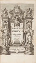 Books:Fine Bindings & Library Sets, John Barclay. Argenis... [with:] Archombrotus et Theopompus sive Argenidis... [with:] Euphormion... (Total: 3 Items)