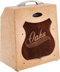 Musical Instruments:Amplifiers, PA, & Effects, 1955 Oahu Tonemaster Tan Guitar Amplifier....