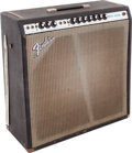 Musical Instruments:Amplifiers, PA, & Effects, 1971 Fender Super Reverb Black Guitar Amplifier, Serial #A52941....