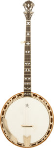 Musical Instruments:Banjos, Mandolins, & Ukes, 1990 W. Barrows Natural 5 String Bluegrass Banjo....