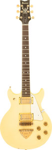 Musical Instruments:Electric Guitars, 1982 Ibanez Artist Pearl White Solid Body Electric Guitar, Serial # A824090....