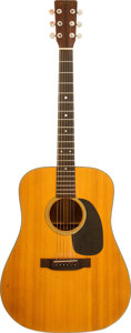 Musical Instruments:Acoustic Guitars, 1970 Martin D-18 Natural Acoustic Guitar, Serial # 260101....
