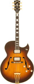 Musical Instruments:Electric Guitars, Ted Nugent's 1968 Gibson Byrdland Semi-Hollow Body Electric Guitar,Serial # 899093....