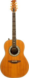 Musical Instruments:Acoustic Guitars, 1977 Ovation Glenn Campbell Natural Acoustic Guitar, Serial #122714....