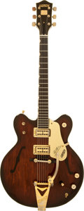 Musical Instruments:Electric Guitars, 1980 Gretsch Country Gentleman Burgundy Sunburst Semi-Hollow BodyElectric Guitar, Serial # 11 045....
