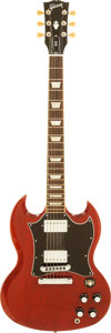 Musical Instruments:Electric Guitars, 2009 Gibson SG Standard Cherry Solid Body Electric Guitar, Serial # 008690477....