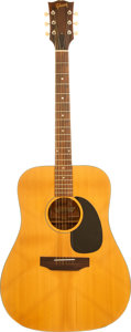 Musical Instruments:Acoustic Guitars, 1971 Gibson J-40 Natural Acoustic Guitar, Serial # 726999....